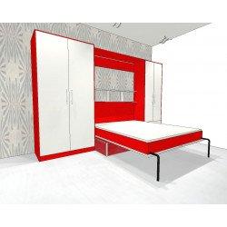 Шкаф-кровать с диваном 2