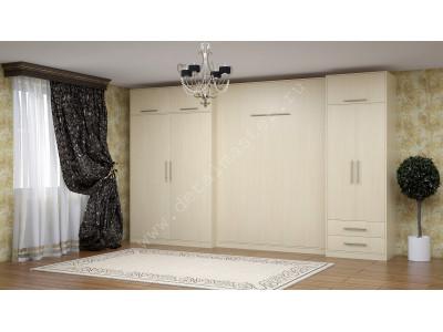 """Комплект мебели со шкаф-кроватью """"Ратмир """"в Новосибирске."""