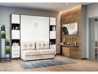 """шкаф-кровать  с диваном """"БЕЛА""""в Новосибирске"""