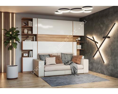 """Шкаф-кровать с диваном """"Дина"""""""