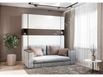 """Шкаф-кровать с диваном """"Добрава"""" в Новосибирске"""