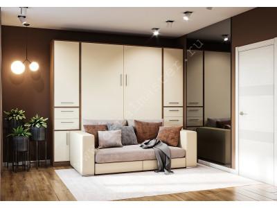"""Шкаф-кровать с диваном """"Злата"""" в Новосибирске"""